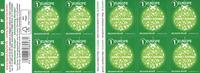 Belgium - Christmas 2015 - Mint booklet green