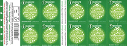 Belgien - Jul 2015 - Postfrisk hæfte grønt