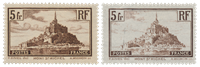 France 1929-31 - YT 260 I + II - Unused