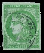 France 1870 - YT 42B - Cancelled