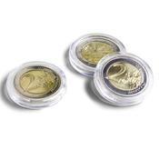 Runde møntkapsler ULTRA - Mønt Ø 25,75 mm, f. eks.  2 Euro - 10 Stk.