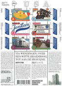 Netherlands - Friendship USA, architecture - Mint souvenir sheet