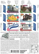 Holland - USA venskab - Sprogets indflydelse - Postfrisk miniark