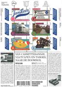 Holland - USA Venskab - Popkultur - Postfrisk miniark