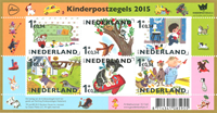 Holland - Børnefrimærker - Postfrisk miniark