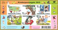 Nederland - Kinderpostzegels - Postfris souvenir velletje