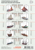 Netherlands - Ship models - Mint sheetlet