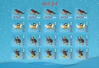 Åland - Juleark 2015 - Julemærkeark
