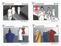 Singapore - FASHION / JOINT ISSUE WIT * - Mint stamp