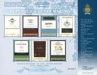 San Marino - Wines - Mint souvenir sheet