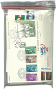 Dutch Colonies - Duplicate lot first day covers