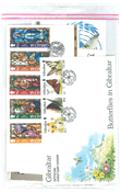 Gibraltar - Eerste dag enveloppen VII