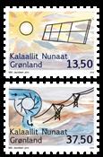 Grønland - Vedvarende energi - Postfrisk sæt 2v