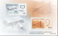 Grønland - Arkitektur I - Postfrisk miniark