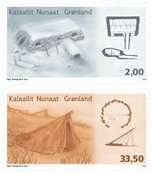 Greenland - Architecture I - Mint set 2v