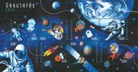 Hungary - Space - Mint souvenir sheet