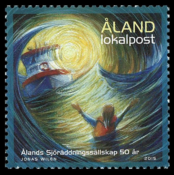 Åland - Havredning - Postfrisk frimærke