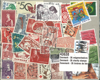 Denmark - 35 charity stamps