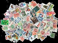 Danmark - 1000 forskellige frimærker