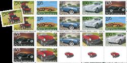 Antilles - Veteranbiler - Postfrisk sæt 6v
