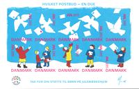 Denmark - Christmas seals 2015 - Mint sheetlet