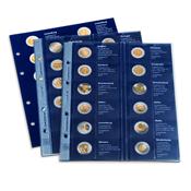 Fortryksblad 2012 til møntalbum Classic-OPTIMA, *2-Euro-Erindringsmønter*