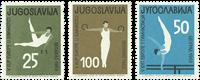 Yougoslavia - 1963 Gymnastics - Mint