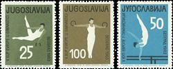 Jugoslavien - 1963 Gymnastik - Postfrisk