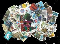England - Frimærkepakke - 1500 forskellige