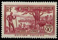 Ivory Coast - YT 123