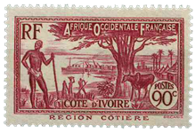 Elfenbenskysten - YT 123