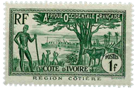 Elfenbenskysten - YT 124