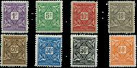 Elfenbenskysten - Portomærker YT 9-16