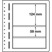 Lighthouse / Leuchtturm LB-Blank sheets, 190x124 mm, 190x59 - pack of 10