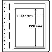 LEUCHTTURM feuilles neutres LB, 1 compartiment, pour ETB - paquet de 10