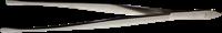 Pincet - Rund spids - 15 cm - Med etui