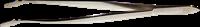 Pinsettejä De-Luxe 15 cm kotelo - Taivutettu Leveäkärkinen