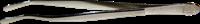 Pinsettejä De-Luxe 12 cm kotelo - Taivutettu Pyöreäkärkinen