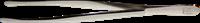 Pinsettejä - De-Luxe 12 cm kotelo - Suorat Pyöreäkärkinen