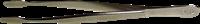 Pinsettejä - De-Luxe 12 cm kotelo - Suorat Leveäkärkinen
