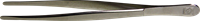 Pinsettejä - De-Luxe 12 cm kotelo - Suorat Kapeakärkinen