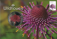 Australia - Wild flowers - PNC / Coin Cover