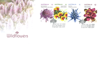 Australia - Wild flowers - First Day Cover