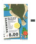 Denmark - Dish *Shooting star* - Mint stamp