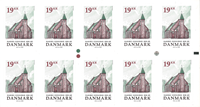 Denmark - Maribo Domkirke - Mint strip of 10