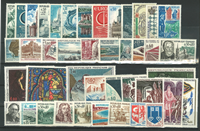 France - Année 1966 - 43 timbres