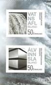 Island - Grøn energi - Postfrisk sæt 2v