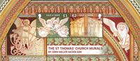 Man - Kirkemalerier - Postfrisk miniark