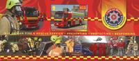 Man - Brand og redning - Postfrisk miniark