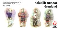 Grønland - Kvindens nationaldragter - Postfrisk hæfte